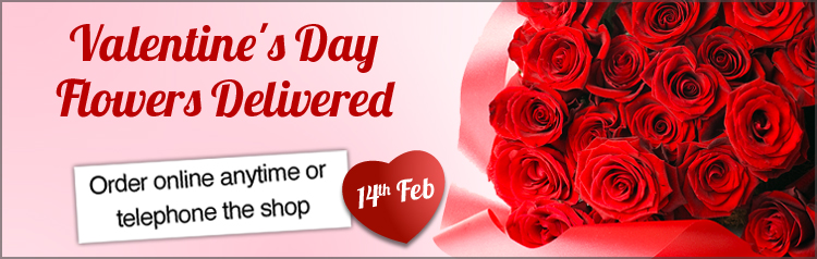 Valentine\'s Day Flowers St Neots - Country Fayre Florist